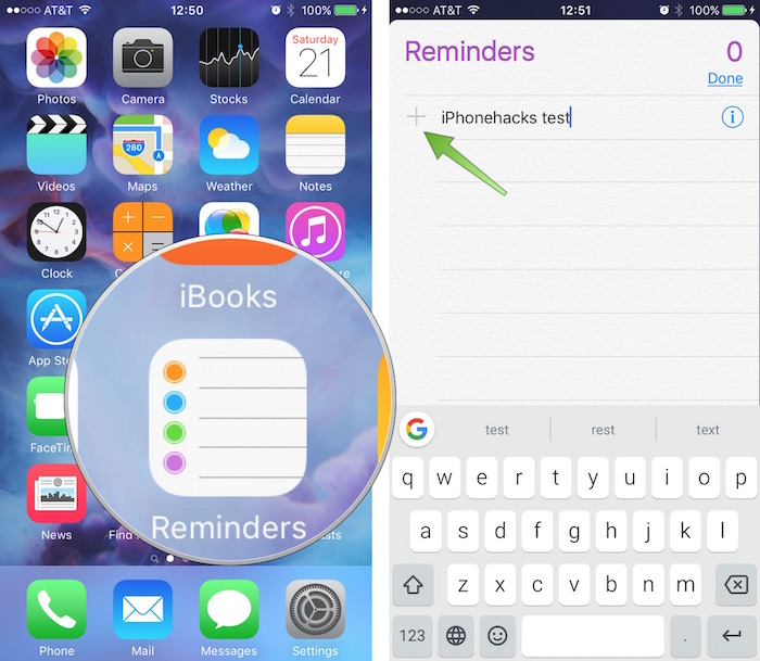 How to Create iPhone Reminders for When You Get In and Out of Your Car