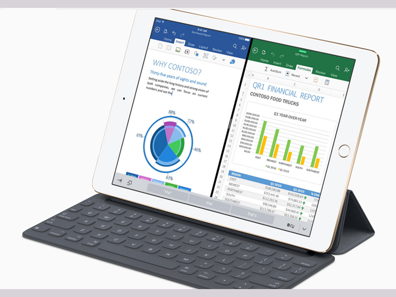 Apple Offers Microsoft Office 365 As an iPad Pro Accessory